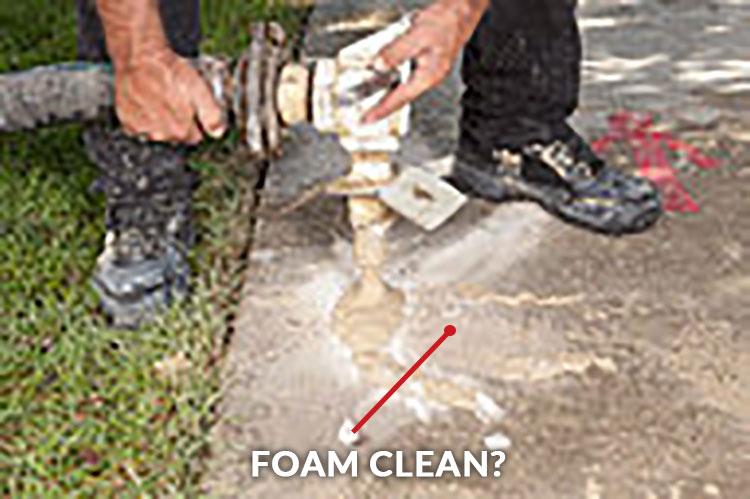 Foam Clean?